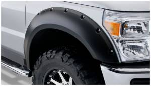 Exterior - Fender Flares - Bushwacker - Bushwacker 20917-02 Pocket Style Fender Flare Fits 2008-10 Ford Super Duty F-250/350/450