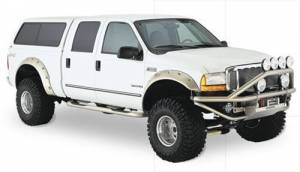 Exterior - Fender Flares - Bushwacker - Bushwacker 20043-02 Pocket Style Fender Flare Fits 1999-07 Ford Super Duty F-250/350/450
