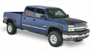 Exterior - Fender Flares - Bushwacker - Bushwacker 40918-02 Pocket Style Fender Flares for 03-07 Chevy Silverado 1500, 2500HD, 3500HD (Non-Dually) Standard & Long Bed