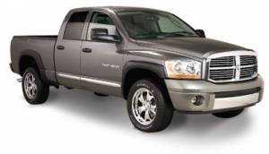 Exterior - Fender Flares - Bushwacker - Bushwacker 50910-02 OE STYLE FENDER FLARES 06-09 Dodge RAM 2500/3500 & Power Wagon Short Bed