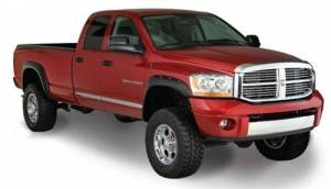 Exterior - Fender Flares - Bushwacker - Bushwacker 50911-02 POCKET STYLE FENDER FLARES Fits 06-09 Dodge Ram 2500/3500 and Power Wagon LONG BED