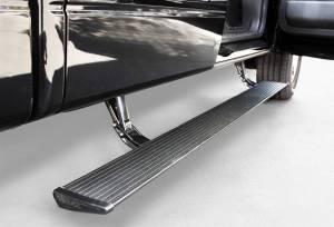 Exterior - Running Boards - AMP Research - AMP Research 2006-2009 Dodge Ram 1500/2500/3500 Mega Cab PowerStep - Black
