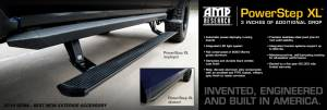 AMP Research - AMP Research 2017-2017 Ford F-250/350/450 SuperCrew PowerStep XL - Black