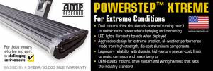 AMP Research - AMP Research 2015-2017 F150 All Cabs PowerStep Xtreme - Black