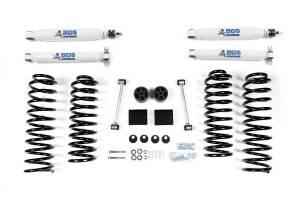 "Steering And Suspension - Lift & Leveling Kits - BDS Suspension - BDS 1402H 2"" Spring Lift Kit | 2007 - 2011 Jeep Wrangler JK 4 door 4WD"