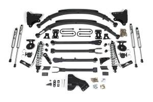 """Steering And Suspension - Lift & Leveling Kits - BDS Suspension - BDS 590F 4"""" Coilover Conversion 4-Link Suspension System - 11-16 Ford F250/F350 4WD Diesel"""