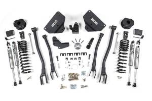 "Steering And Suspension - Lift & Leveling Kits - BDS Suspension - BDS 1632H 4"" 4-Link Suspension System for 2014-18 Ram 2500 4WD Diesel w/ Rear Air Ride Diesel Only"