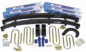 "Steering And Suspension - Lift & Leveling Kits - BDS Suspension - BDS 138H 4"" Lift Kit for 1988-1991 Chevrolet/ GMC 4WD 3/4 ton Suburban"