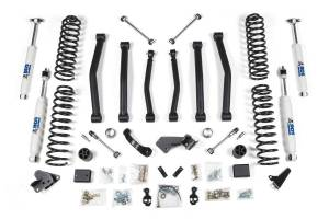 "Steering And Suspension - Lift & Leveling Kits - BDS Suspension - BDS 1425H 4"" Lift Kit | 2007-2011 Jeep Wrangler JK 2 door 4WD"
