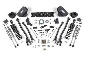 BDS Suspension - BDS Suspension 5.5in Front 4-Link/5in Rear Air Bags 1630H