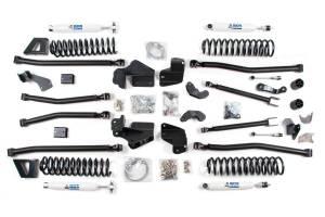 "Steering And Suspension - Lift & Leveling Kits - BDS Suspension - BDS 1409H 6-1/2"" Long Arm Lift Kit - Jeep Wrangler JK 4dr"