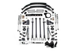 """Steering And Suspension - Lift & Leveling Kits - BDS Suspension - BDS 1527F 6"""" 4-Link Coil-Over Suspension System   2017-19 Ford F250/F350 4WD Diesel"""