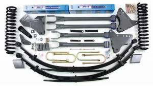 "Steering And Suspension - Lift & Leveling Kits - BDS Suspension - BDS 351H 6"" 4-Link Lift Kit - 2005-07 Ford F250/F350 4WD"