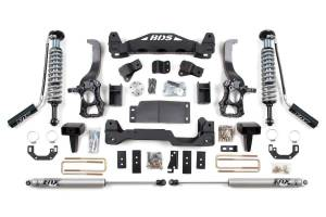 "BDS Suspension - BDS 1505F 6"" Coil-Over Suspension Lift Kit for 2014 Ford F150 2WD"
