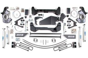 "Steering And Suspension - Lift & Leveling Kits - BDS Suspension - BDS 193H 6"" Lift Kit for 1988-1998 Chevrolet/GMC 4WD 6-Lug"