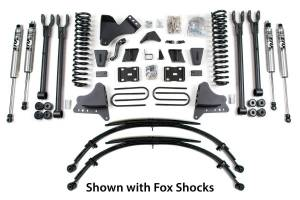 """Steering And Suspension - Lift & Leveling Kits - BDS Suspension - BDS 1500H 8"""" 4-Link Suspension Lift Kit 