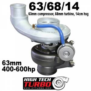 Turbo Chargers & Components - Turbo Charger Kits - High Tech Turbo - High Tech Turbo 63/68/14 SX-E for 03-07 5.9 Cummins