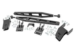 "Steering And Suspension - Suspension Parts - Rough Country - Ford Traction Bar Kit | 0-3"" Lift (05-16 Ford F-250 4WD)"
