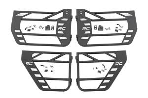 Rough Country - Jeep Front & Rear Steel Tube Doors (07-18 Wrangler JK) - Image 1