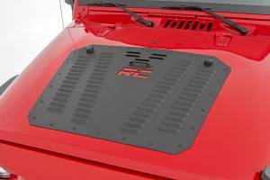 Rough Country - Jeep Powder Coated Hood Louver  (07-18 Wrangler JK) - Image 1