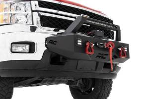 Rough Country - EXO Winch Mount System (11-18 Chevrolet Silverado 2500/3500) - Image 1