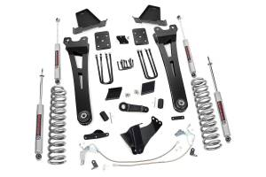 Steering And Suspension - Lift & Leveling Kits - Rough Country - 6in Ford Radius Arm Suspension Lift Kit (11-14 F-250 | No Overloads)
