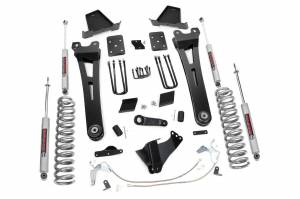 Steering And Suspension - Lift & Leveling Kits - Rough Country - 6in Ford Radius Arm Suspension Lift Kit (15-16 F-250 | Overloads)