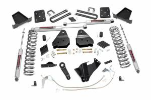 Steering And Suspension - Lift & Leveling Kits - Rough Country - 6in Ford Suspension Lift Kit (15-16 F-250 | Diesel | Overloads)