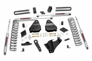 Steering And Suspension - Lift & Leveling Kits - Rough Country - 4.5in Ford Suspension Lift Kit (11-14 F-250 4WD | Diesel | No Factory Overload)