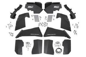 Rough Country - Jeep Front & Rear Inner Fenders Set | Vertex Shocks (07-18 Wrangler JK) - Image 2