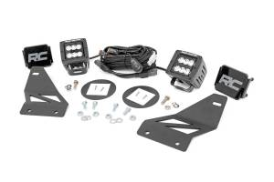 Rough Country - Nissan LED Fog Light Kit | Black Series (05-19 Frontier)
