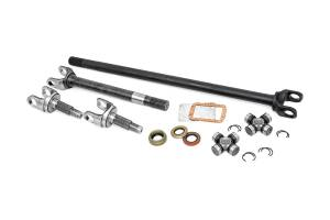 Shop By Part - Axles & Components - Rough Country - 4340 Chromoly Replacement Front Axle Kit w/ Grizzly Locker - Dana 30, 30 Spline (TJ/YJ/XJ/ZJ)