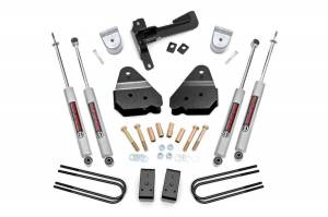 Steering And Suspension - Lift & Leveling Kits - Rough Country - 3in Ford Suspension Lift Kit (17-20 F-250 4WD)