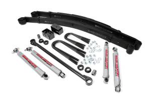 Steering And Suspension - Lift & Leveling Kits - Rough Country - 3in Ford Suspension Lift Kit (00-05 Excursion 4WD)