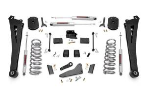 Steering And Suspension - Lift & Leveling Kits - Rough Country - 5in Dodge Suspension Lift Kit | Coil Springs | Radius Arms (14-18 Ram 2500 4WD | Diesel)