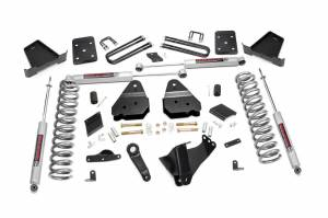 Steering And Suspension - Lift & Leveling Kits - Rough Country - 4.5in Ford Suspension Lift Kit | N3 (15-16 F-250 4WD | w/Overload Springs)