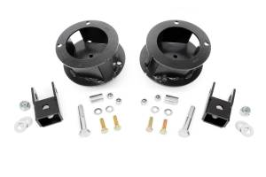 Steering And Suspension - Lift & Leveling Kits - Rough Country - 2.5in Dodge Leveling Coil Spacers (14-20 Ram 2500 | 13-20 Ram 3500 4WD)