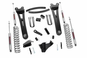Steering And Suspension - Lift & Leveling Kits - Rough Country - 6in Ford Super Duty Radius Arm Suspension Lift Kit (Diesel)
