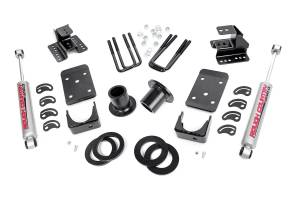 - Rough Country - 1-2in / 4in GM Lowering Kit (07-13 1500 PU 2WD)