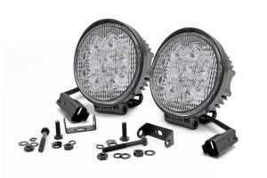 Rough Country - 4-inch LED Round Lights