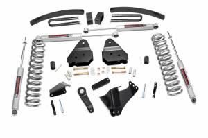 Steering And Suspension - Lift & Leveling Kits - Rough Country - 6in Ford Suspension Lift Kit (05-07 F250/350 4x4 Diesel)