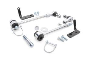 Rough Country - Jeep Front Sway-bar Disconnects | 3.5-6in (07-18 Wrangler JK) - Image 2