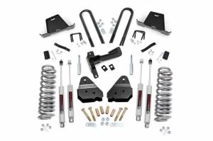 Steering And Suspension - Lift & Leveling Kits - Rough Country - 4.5in Ford Suspension Lift Kit (05-07 F-250/350 4WD)