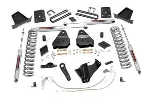 Steering And Suspension - Lift & Leveling Kits - Rough Country - 6in Ford Suspension Lift Kit (11-14 F-250 4WD | Diesel | Overloads)