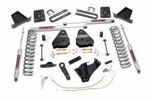 Steering And Suspension - Lift & Leveling Kits - Rough Country - 4.5in Ford Suspension Lift Kit (08-10 F-250/350 4WD)