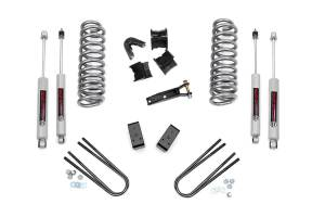 Steering And Suspension - Lift & Leveling Kits - Rough Country - 2.5in Ford Suspension Lift Kit (78-79 Bronco 4WD)