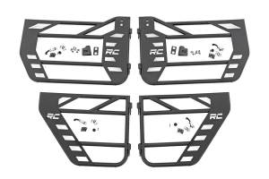 Rough Country - Jeep Front & Rear Steel Tube Doors (07-18 Wrangler JK) - Image 2