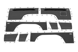 Rough Country - Jeep Front & Rear Upper and Lower Quarter Panel Armor - (97-01 Cherokee XJ) - Image 3