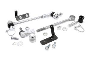 Rough Country - Jeep Front Sway-bar Disconnects (3.5-6in) - Image 7