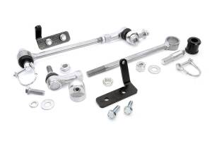 Rough Country - Jeep Front Sway-bar Disconnects (3.5-6in) - Image 8